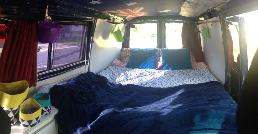 Try Something New: Living out of a van