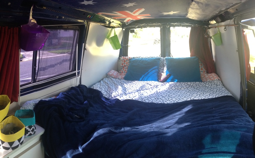 Living out of a van